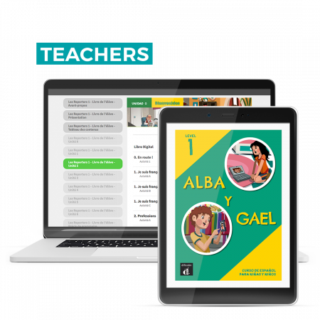 Alba y Gael 1 – The Spanish Hub Teacher – 12 month license