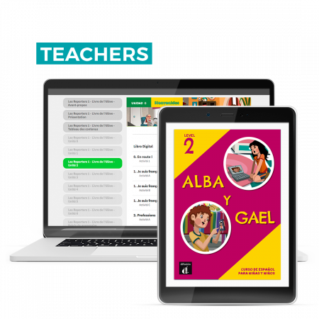 Alba y Gael 2 – The Spanish Hub Teacher – 12 month license