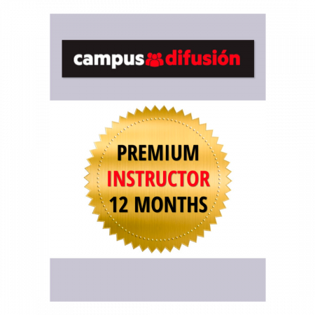 Campus Difusión Premium for Instructors - 12 month license