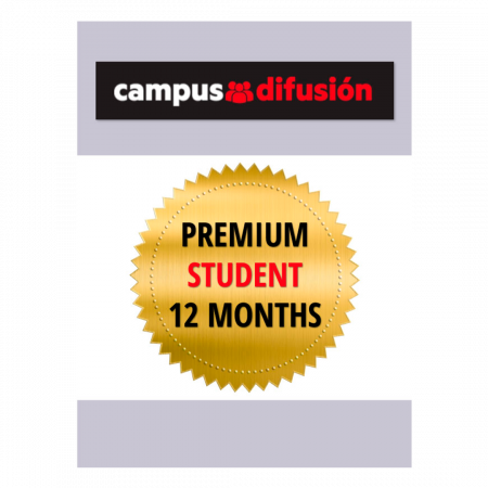 Campus Difusión Premium for Students - 12 month license