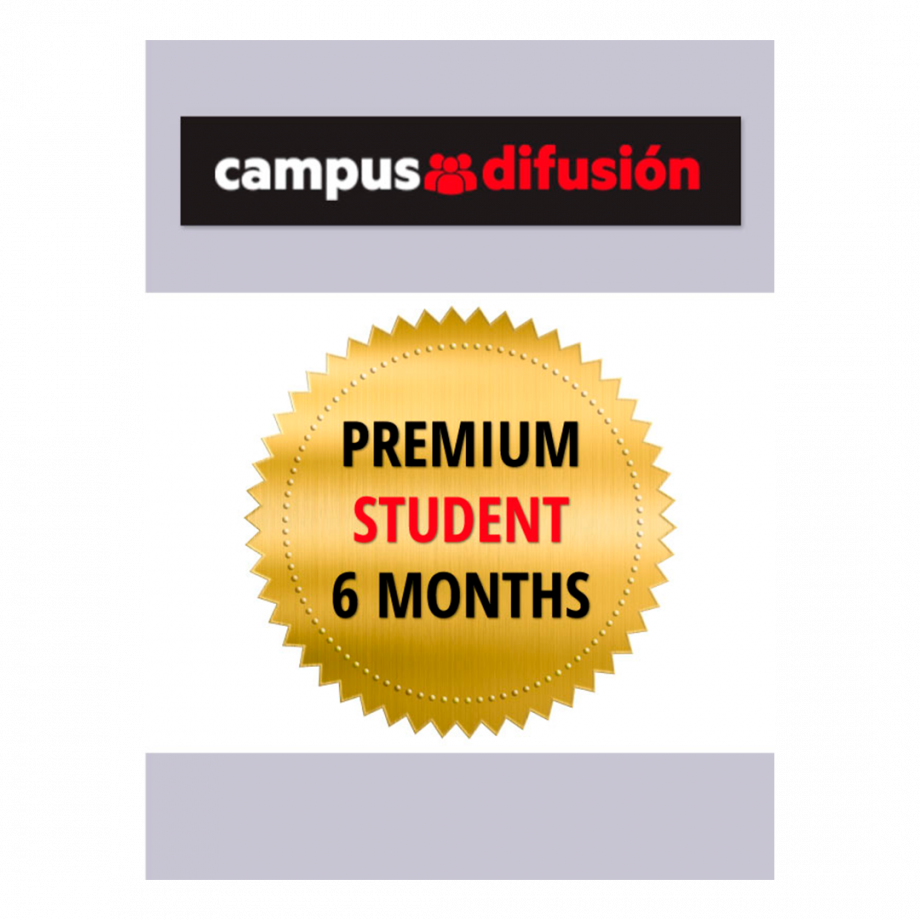 Campus Difusión Premium for Students - 6 month license