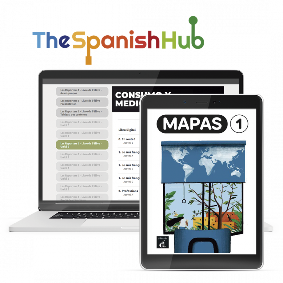 Mapas 1 - TheSpanishHub - 12 month license