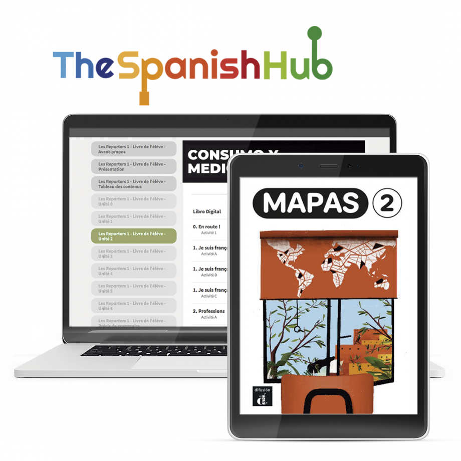 Mapas 2 - TheSpanishHub - 12 month license