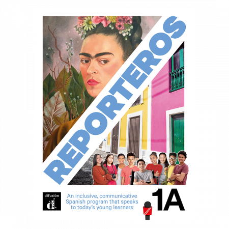 Reporteros 1A - Student Edition Softcover Print