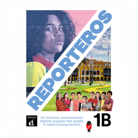 Reporteros 1B - Student Edition Softcover Print